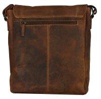 FFelsenfest Vintage Überschlagtasche L antikbraun