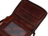 FFelsenfest Vintage Geldbörse Hochformat cognac