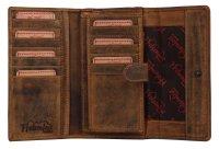 FFelsenfest Vintage Geldbörse Damen groß...