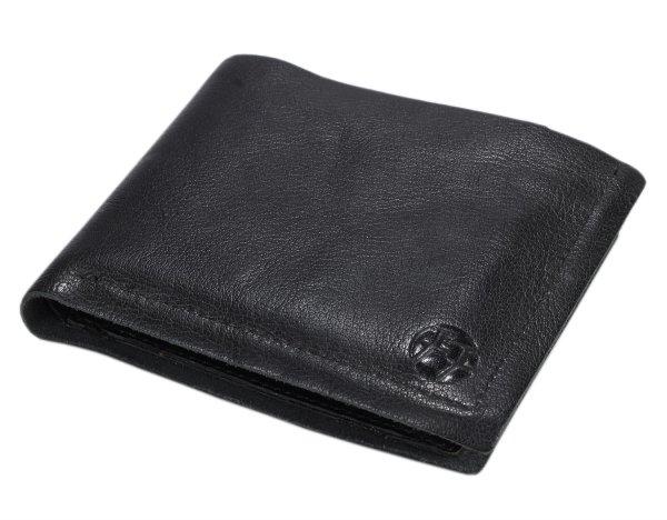 FFelsenfest Ochsenkopf Geldbörse Querformat schwarz