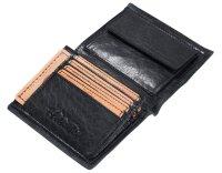 FFelsenfest Ochsenkopf Geldbörse Hochformat schwarz