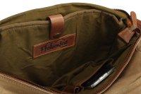FFelsenfest Canvas Vintage  Überschlagtasche khaki