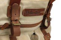 FFelsenfest Canvas Vintage  Business Tasche offwhite