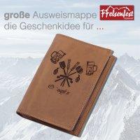 FFelsenfest Ausweistasche mit Zunft-Motiv Brauer &...
