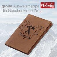 FFelsenfest Ausweistasche mit Zunft-Motiv Klempner